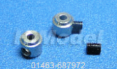 D2.1mm x H5.5 Wheel Adapters (4pc)