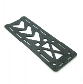 Nighthawk 250 Quadcopter Frame Kit Pure Carbon Fiber Parts - Top Board