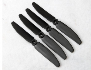 GEMFAN 5x3 / 5030 Carbon Fiber + Nylon Mixing Propeller (CCW) 4pcs (black)