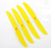 GEMFAN 5030 / 5 x 3 CW Propellers - Yellow (4pcs)
