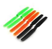 6x3 Gemfan Quadcopter Prop Set - 2CW and 2CCW (orange)