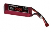 AGA-POWER 2600mAh 40C 2S lipo (V2)
