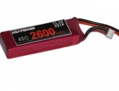 AGA-POWER 2600mAh 40C 3S lipo