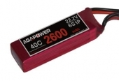 AGA-POWER 2600mAh 40C 6S lipo (V2)