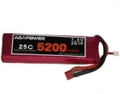 AGA-POWER 5200mAh 25C 2S lipo