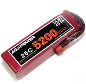 AGA-POWER 5200mAh 25C 4S lipo