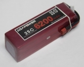 AGA-POWER 6200mAh 25C 6S lipo