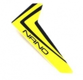Yellow Vertical Fin w/decal: nCP X