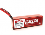 Reaction 11.1V 5000mAh 3S 50C LiPo, Hardcase: EC3