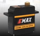 EMAX ES09MA (dual-bearing) specific swash servo for 450 helicopters 14.8g