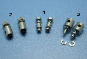 EMAX Linkage stoppers D1.8mm Φ0.8