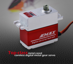 EMAX ES9255 Top-class metal cased coreless digital metal gear servo 72g