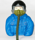 Jet Planes 1/6 Blue Painted Pilot