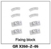 QR X350-Z-05 Fixing block
