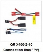 QR X400-Z-10 Connection line FPV