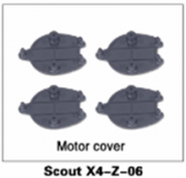 Scout X4 Motor cover (4pc)