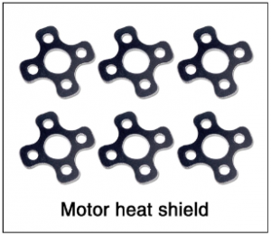 Tali H500 Motor heat shield (6pc)