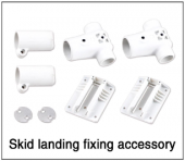 Tali H500 Skid landing fixing accessory (white)