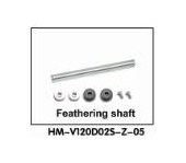 HM-V120D02S-Z-05 Feathering shaft