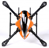 X-CAM Kongcopter FQ700 Folding Quadcopter Frame Kit Dia.25mm Arm w/Landing Gear for FPV