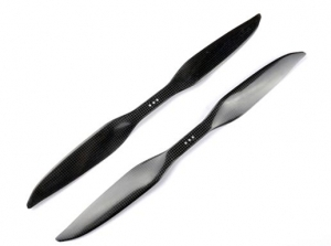 16x 5.5 inch 3K Carbon Propeller Set (one CW, one CCW) - Sharp Tip