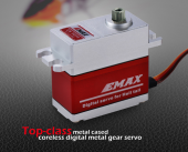 EMAX ES9054 Top-class metal cased coreless digital metal gear servo 72g