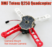HMF Totem Q250 250mm 4-Axis Quadcopter Frame Kit CC3D Compatible